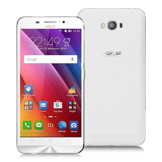 "Смартфон Asus Zenfone Max ZC550KL 2/16Gb White, 2sim, 5000mAh, экран 5.5"" IPS, 13/5Мп, GPS, 3G, 4 ядра"