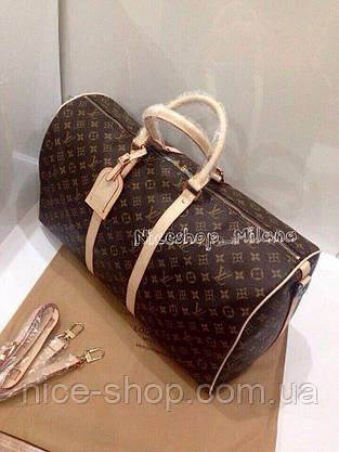 Уценка! Сумка Louis Vuitton Keppall кожа, классика монограмм, Люкс, 55 см, фото 2
