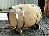 Бочка дубовая для вина, коньяка 70л.,  обруч нерж.