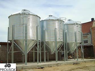 Силосы для хранения зерна 20 т