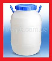 Пластиковая Емкость-Бочка для Брожения и Хранения Вина, Самогона 50 литров