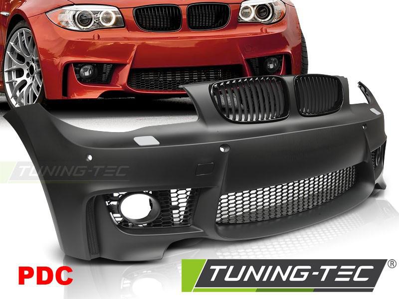 Передний бампер BMW E81 E82 E87 E88 тюнинг обвес стиль M1