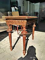 Столик антикварный с раскладной столешницей