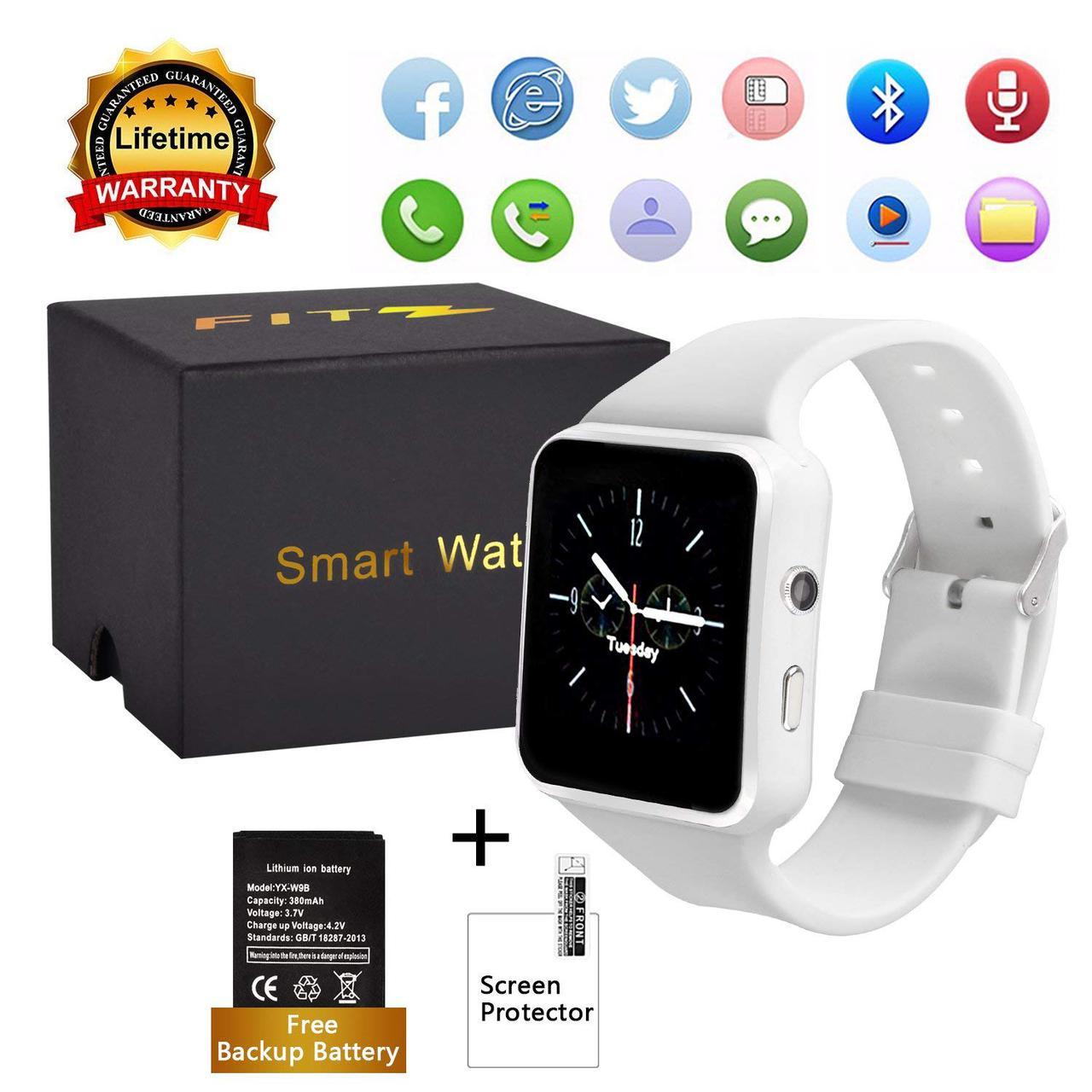 Умные часы FITZ с камерой, Bluetooth и сенсорным экраном