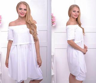 Летнее платье-туника большого размера 50-58