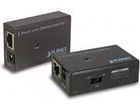 PoE инжектор Planet POE-100SK + блок питания, в коробке, нов