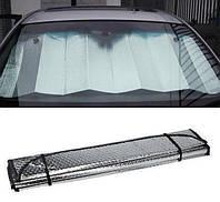 Экран солнцезащитный на лобовое стекло в авто 70 X 140 cm