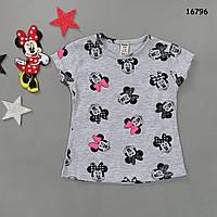 Футболка Minnie Mouse для девочки. 9-12 мес., фото 1
