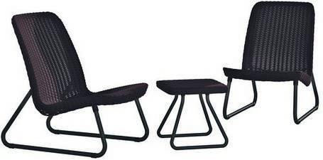 Набор мебели, Rio patio set, виски коричневый, фото 2