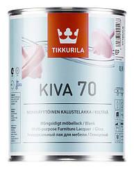 Лак мебельный глянцевый Tikkurila KIVA 70 0.9L