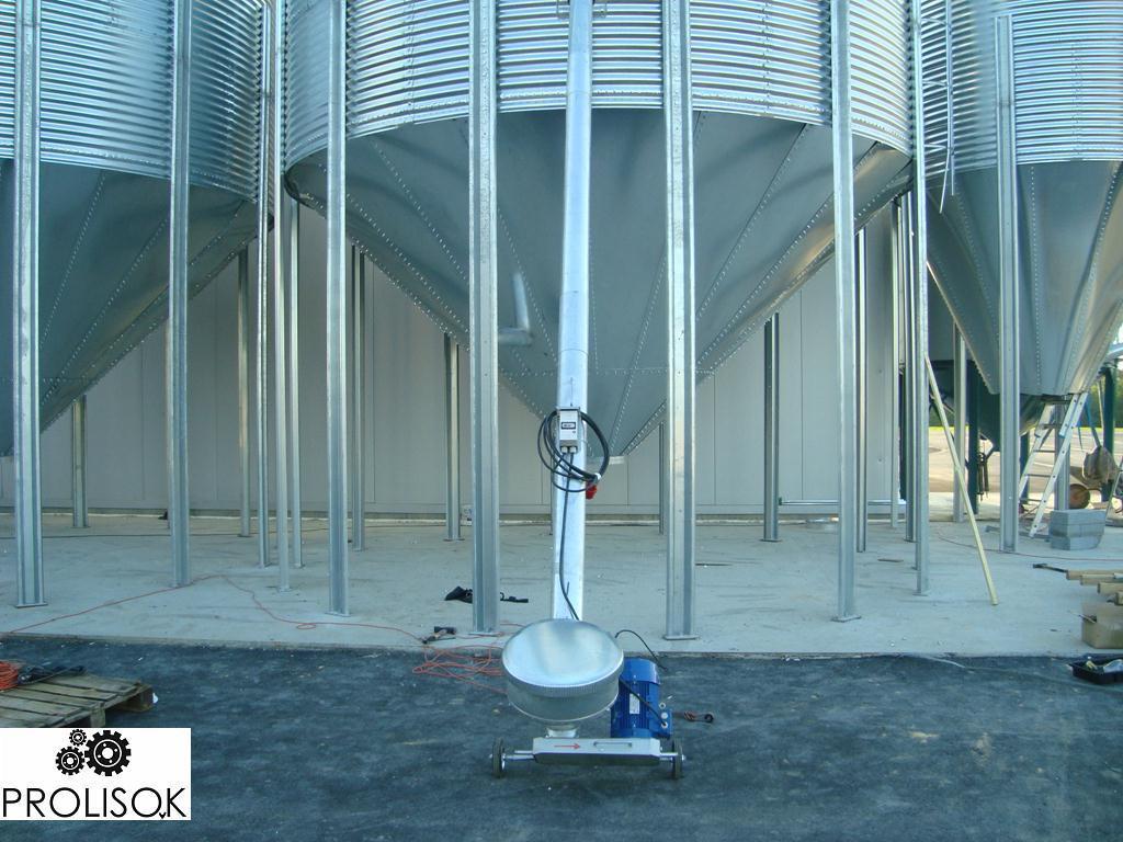 Бункер для зерна 74 т