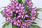 Искусственные цветы - Ритуальный букет лилия с папоротником, фото 2
