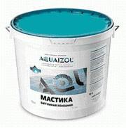 Битумно-каучуковая мастика Акваизол 10кг.