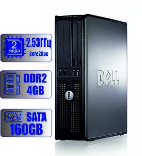 Системный блок DELL 2 ядра 2.53 GHz/4Gb-DDR2/HDD-160Gb, фото 2
