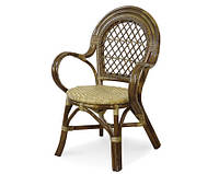 Кресло с плетеным сиденьем 0411 А/О (Евродом)