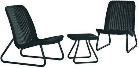 Набор мебели, Rio patio set, графит, фото 2