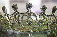 Диадема - корона золотистая, фото 1