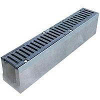 Установка бетонних лотків