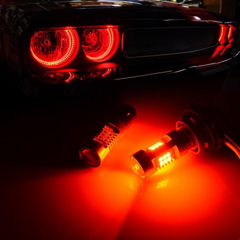 Светодиодные автолампы CARLAMP P21W 4G-Series Красная 4G211156RED