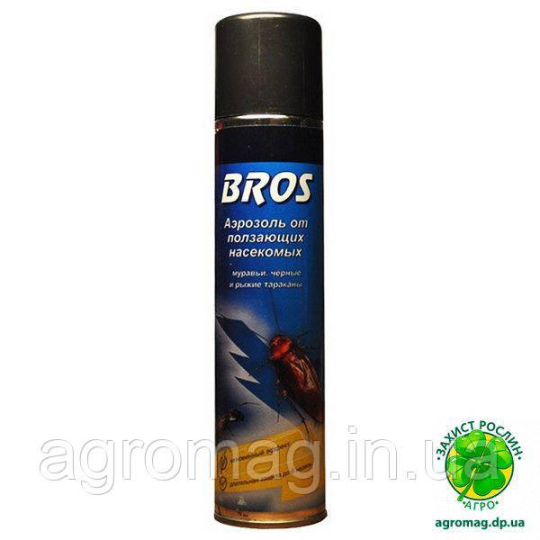 Аэрозоль Bros от ползающих насекомых 400мл