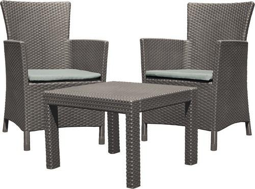 Набор мебели, Rosario balcony set, капучино - песок