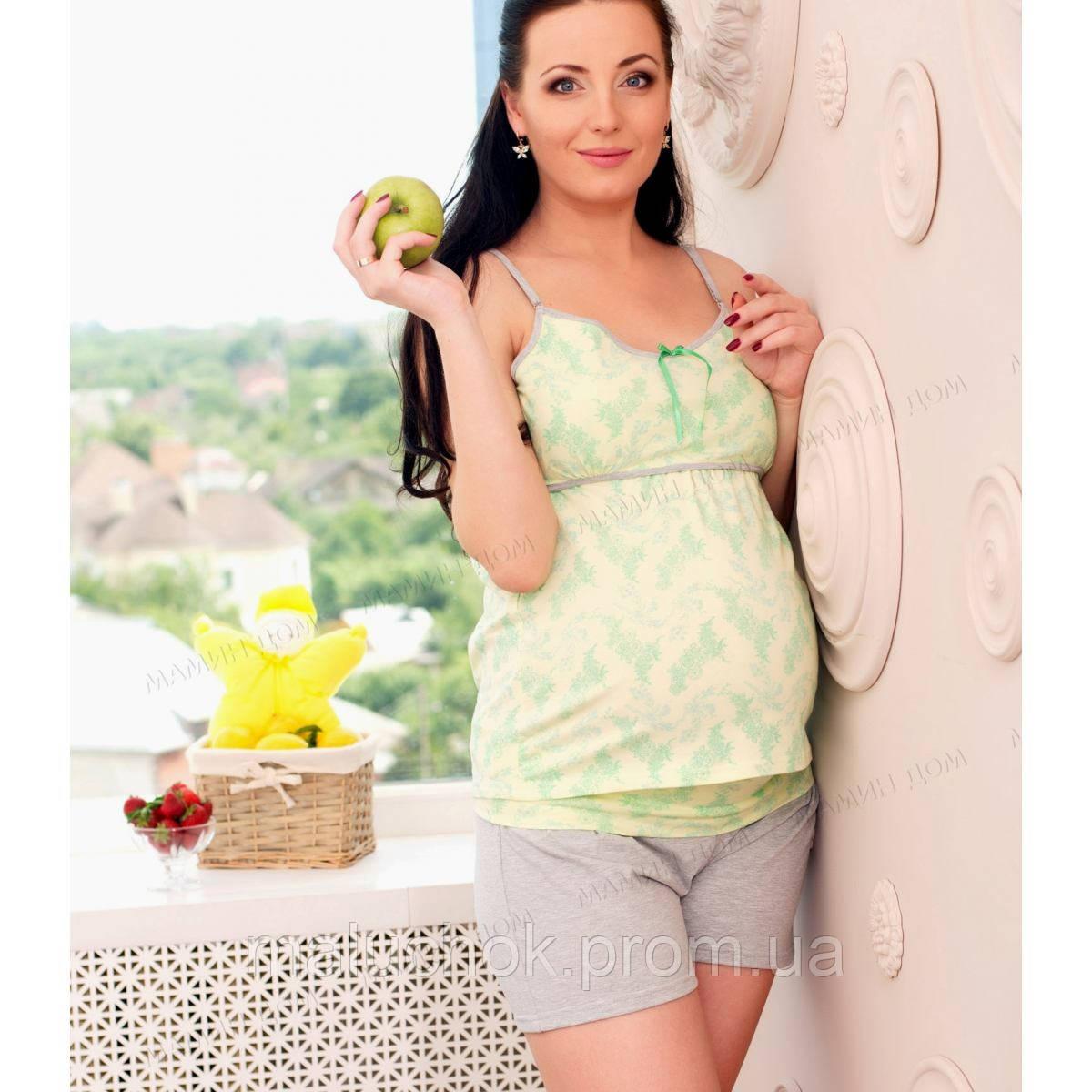 Пижама для беременных и кормящих, цена 519 грн., купить в Киеве ... 084bd8cd873