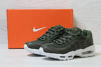 Модні спортивні жіночі кросівки Nike 95 (зелені), ТОП-репліка, фото 1