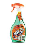 Мистер Мускул для стекол Нашатырный спирт  с распылителем 500 мл