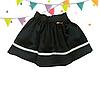 Детская стильная школьная юбка Лента