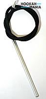 Силиконовый шланг для кальяна Soft touch Black полный комплект, фото 1