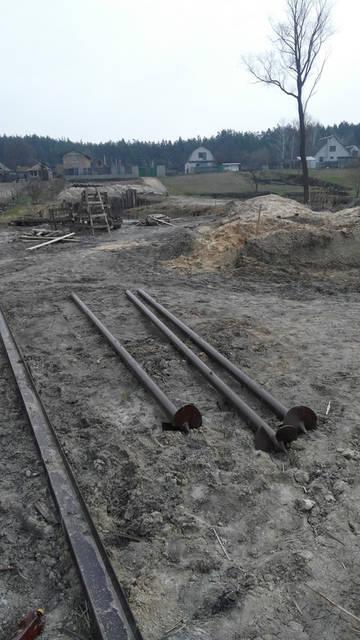 Строительство пирса в Старом Салтове ,поселок Графское. 6