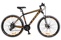 "Велосипед Leon HT 80 DD 26"" черно-оранжевый"