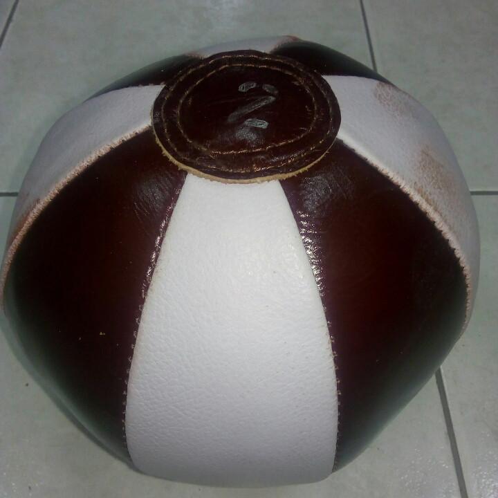 Медбол 2 кг натуральная кожа