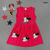 Летнее платье Minnie Mouse для девочки.  6, 8, 10 лет, фото 1