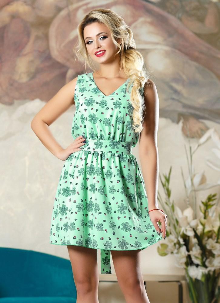 16cc0e3367a Летнее платье коктейль софт Д-1489 - Lace Secret - Магазин женского белья и  одежды