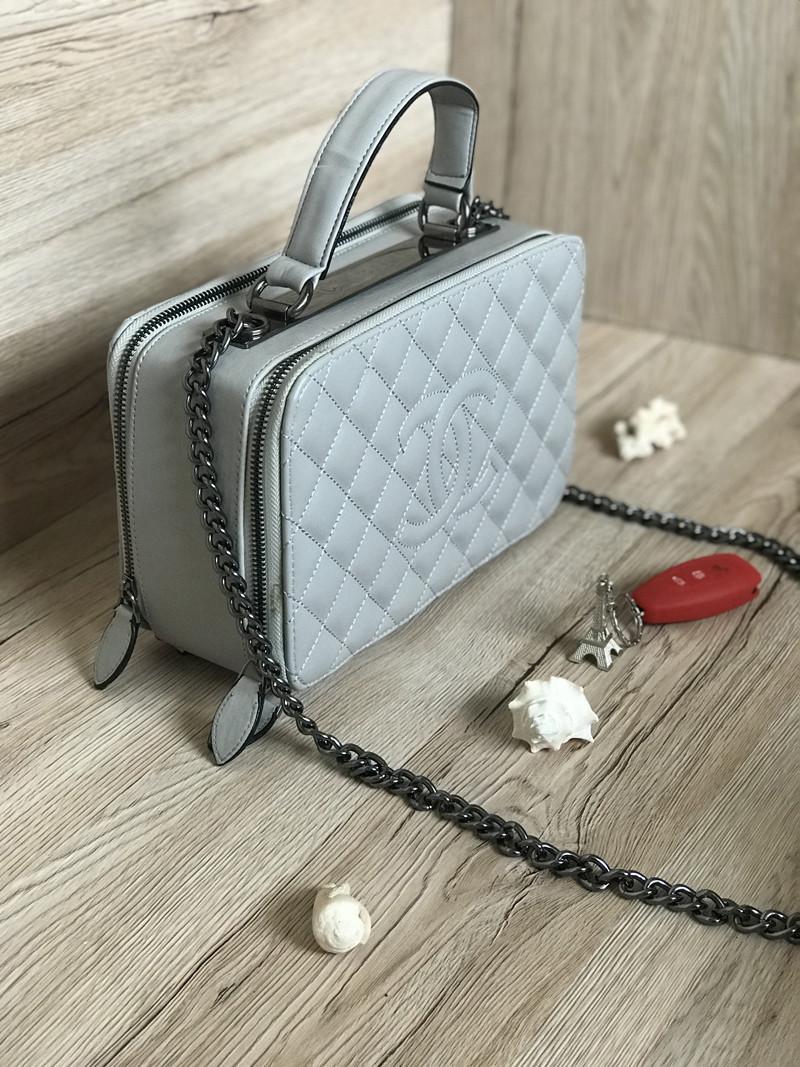 faa5e5713a09 Сумка Клатч Шанель реплика Chanel саквояж ,grey, цена 1 116 грн., купить в  Харькове — Prom.ua (ID#584048129)