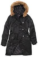 Осенняя женская куртка парка Alpha Industries Natasha WJN43902C1 (Black)
