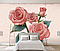 """3D фотообои """"Малиновые розы"""", фото 3"""