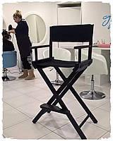 Складной стул для визажа Apolo black, фото 1