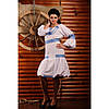 ... Вишита жіноча сукня з салатовою вишивкою - Magtex  Магия текстиля в  Тернополе 5546f898407be