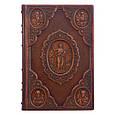 """Ілюстрована Біблія """"Новий Завіт"""" у шкіряній палітурці і подарунковому футлярі, фото 2"""