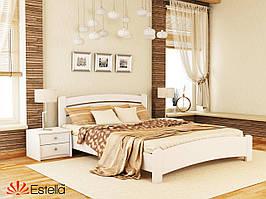 Дерев'яне ліжко Венеція Люкс (білий)