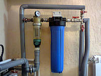 Магистральный фильтр для холодной воды FHTR 1/2, 3/4,1.