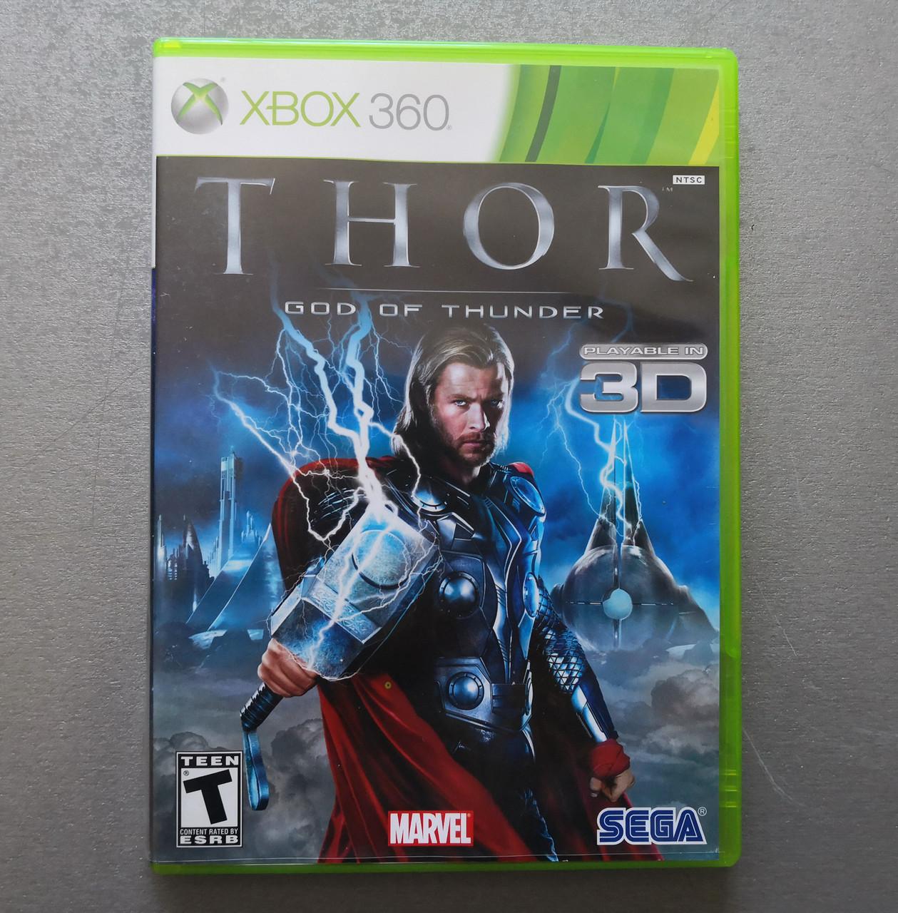 Игра Xbox 360 Thor God of Thunder регион NTSC