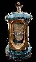 Лампадка (подсвечник) с гранитом для надгробного памятника