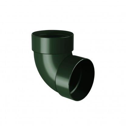 Отвод двухмуфтовый 87° Rainway 130 Зеленый