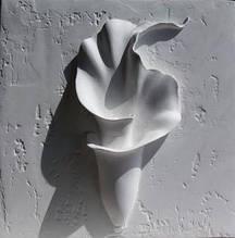 Панно-барельеф Цветок калла