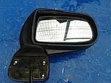 Зеркало заднего вида правое Mazda Premacy 1998-2005г.в. красное с подогревом Дефект крышки корпуса, фото 2
