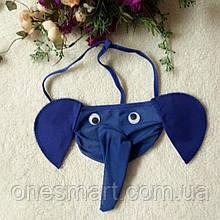 Трусики мужские слоник синего цвета