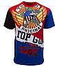 """Оригинальная футболка Top Gun """"Flying Legend"""" TGM1806 (Red)"""